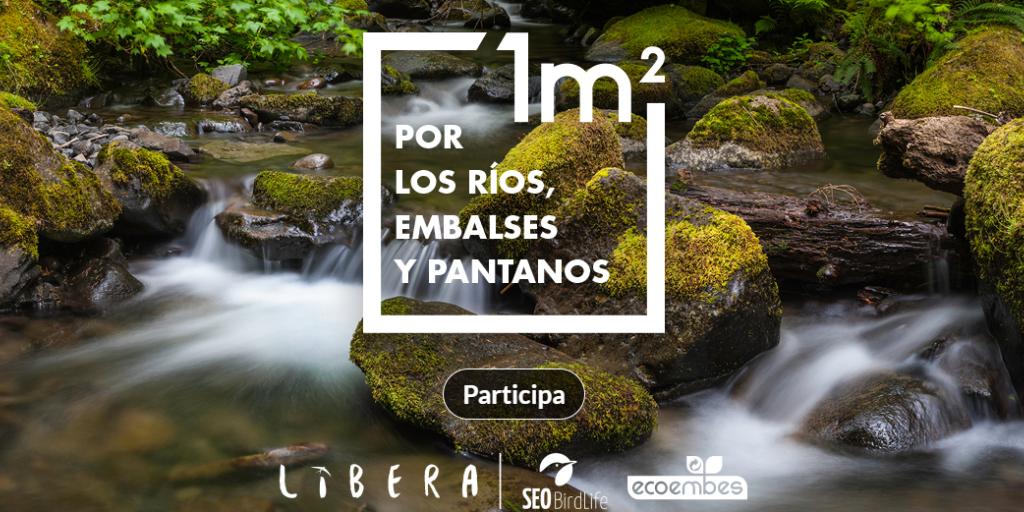 Tercera edición de ´1m2 por los ríos, embalses y pantanos´ – Del 7 al 15 de marzo