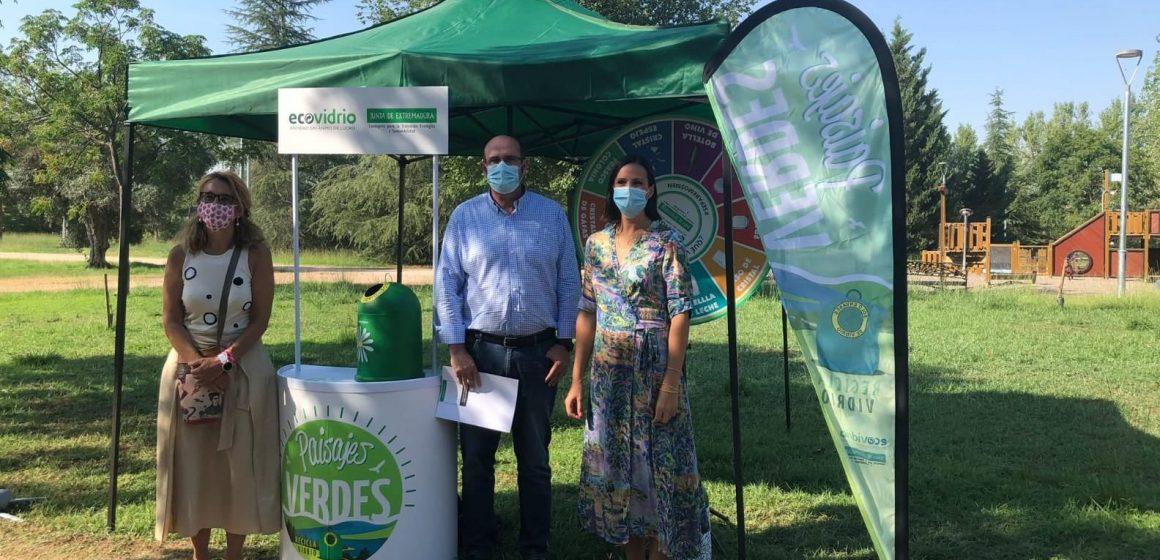 Ecovidrio y la Junta de Extremadura ponen en marcha la campaña 'Paisajes Verdes' para concienciar sobre la importancia del reciclaje de envases de vidrio en los espacios naturales extremeños