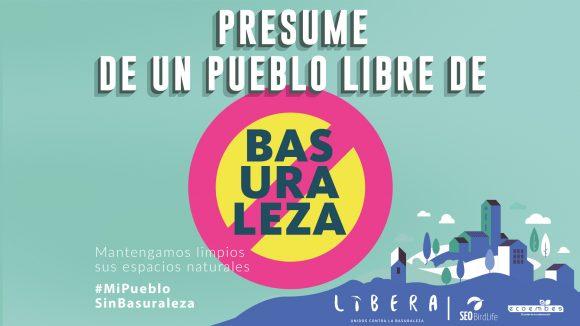 Más de 300 municipios se adhieren a la campaña de LIBERA #MiPuebloSinBasuraleza