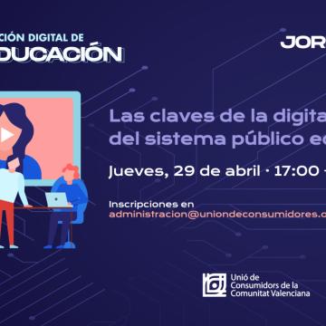 Webinar: Las claves de la digitalización del sistema público educativo