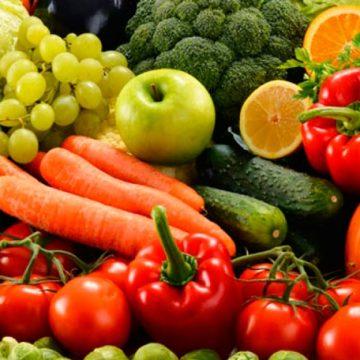 Baja el consumo de frutas y verduras en España, solamente 3 raciones al día.