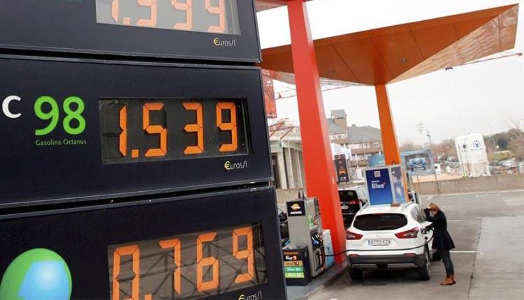 El imparable ascenso, también, de las gasolinas